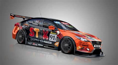 Striking livery for Porsche hunting Mazda   Speedcafe
