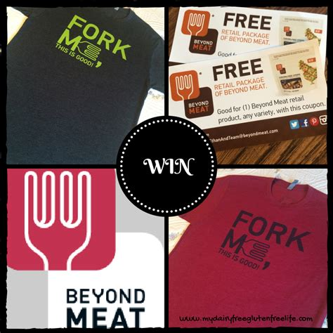 Free T Shirt Giveaway - enter to win beyond meat free product t shirt giveaway