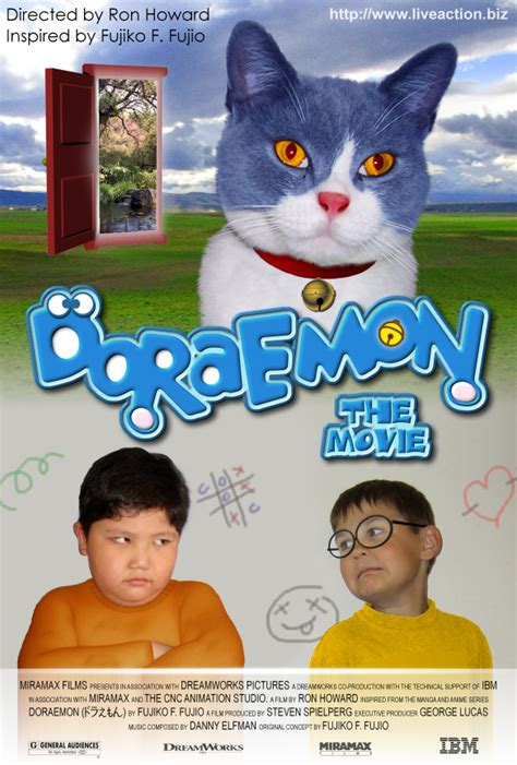 Film Doraemon Live Action | doraemon fake live action by hatecold on deviantart