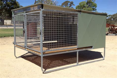 Pdf Raised Puppy Pen by Raised Run Kennels Lucindale Engineering South
