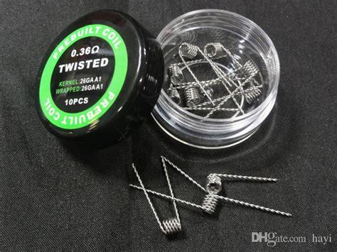 Occ Coil Mod Kit Eceran Per Pcs pre built coils fused clapton flat mix twisted hive