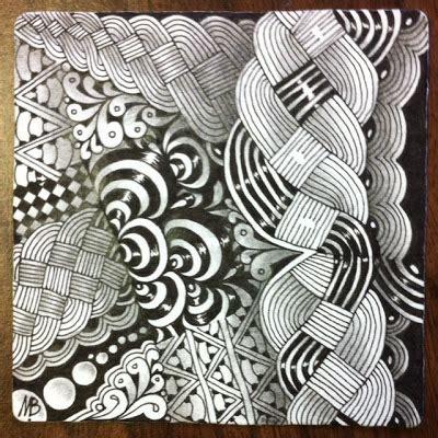 zentangle pattern cruze enthusiastic artist cruze