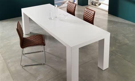 tavoli bianchi allungabili tavoli bianchi allungabili tavolino in vetro per salotto