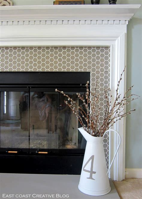 Painted Fireplace by How To Paint A Fireplace Infarrantly Creative