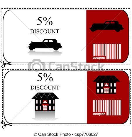 casas de seguros de coches stock de ilustraciones de seguro coche vale regalo