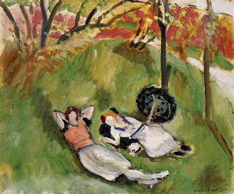 Henri Matisse Large Reclining by Two Figures Reclining In A Landscape Henri Matisse Wikiart Org Encyclopedia Of Visual Arts