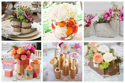 diy wedding centerpiece ideas on a budget 25 stunning diy wedding centerpieces to make on a budget ideal me