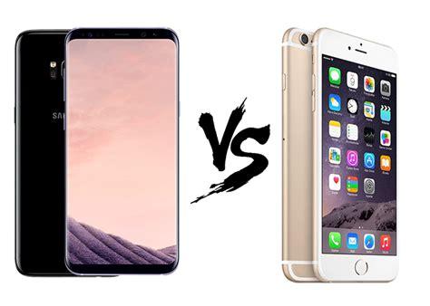 Samsung S8 Vs Iphone 7 Samsung Galaxy S8 Vs Iphone 7 Estas Las Diferencias