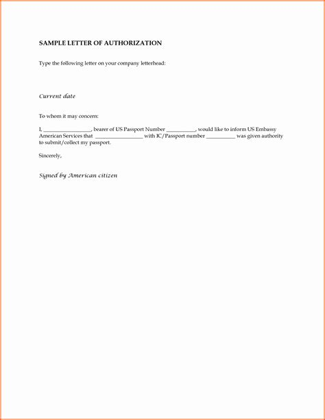 authorization letter payment new authorization letter for payment letter inspiration