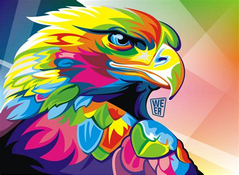imagenes en vectoriales colorful vector animals by wahyu romdhoni art spire