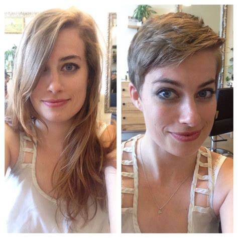 pixie cut before and after 1000 images about hair before and after on pinterest
