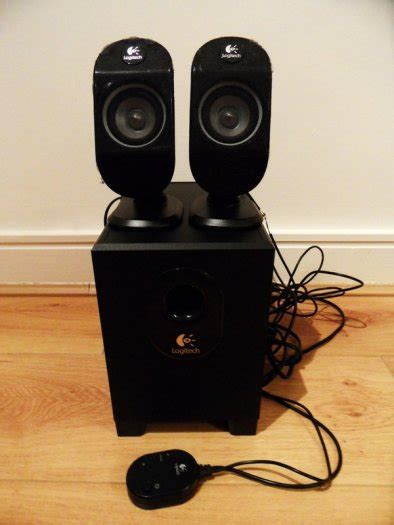 logitech computer speakers with remote for sale in raheny dublin from shamrock76