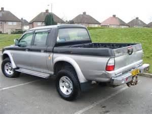 Mitsubishi Warrior For Sale Uk Used Black Mitsubishi L200 2003 Diesel Cab Td