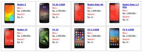 Harga Dan Merek Hp Xiaomi daftar lokasi service center resmi xiaomi harga july