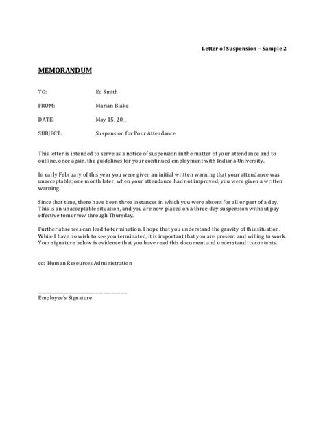suspension from work letter template how to write a corrective letter docoments ojazlink