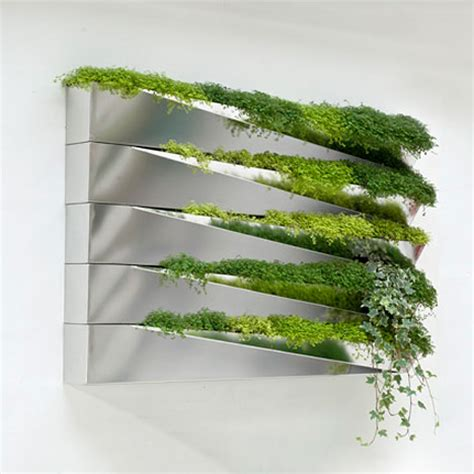modern green wall decoration grass mirror by h2o