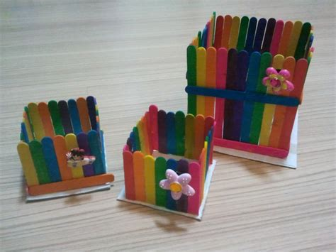 arts and crafts for easy simple and craft rainbow box quot r quot simple