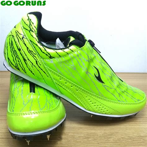 Sepatu Tracking outdoor sport spikes running shoes track and field running shoes ultra light running