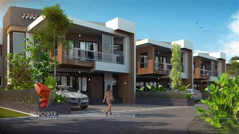 row house design ideas township company raichur 3d power