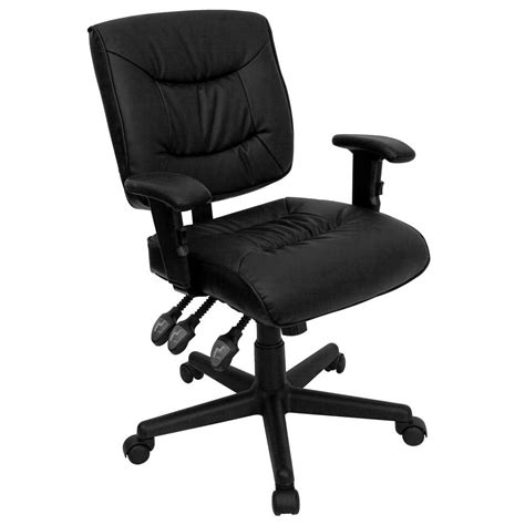 adjustable height desk chair adjustable height office chair for lessen back pain