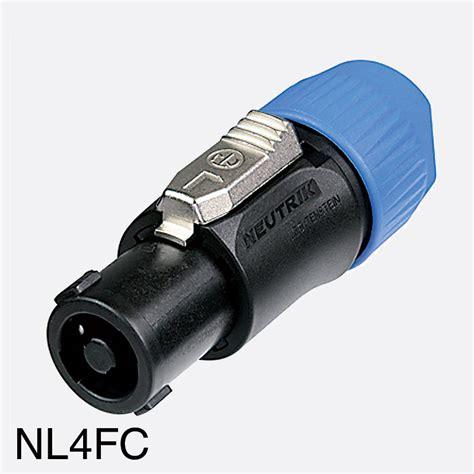 Audio Neutrik Nl4fx Speakon Line 4 Pole 10 out of 10 productions speakon connectors