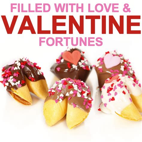 you for a fortune filled day frosted favor take out boxes set of 12 valentine fortune cookies chocolate covered fortune