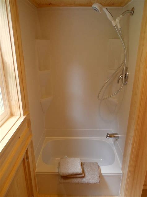 tiny house bathtubs ynez tiny house 6 perfect shower bath for tiny home