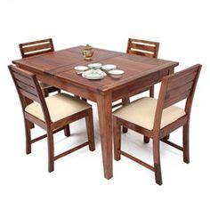 extendable dining table india buy zuari dining table set 4 seater wenge finish piru