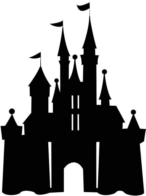 images  disney princess silhouette template print