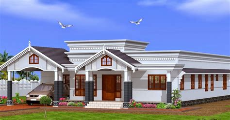 single floor house plans kerala 2015 house design
