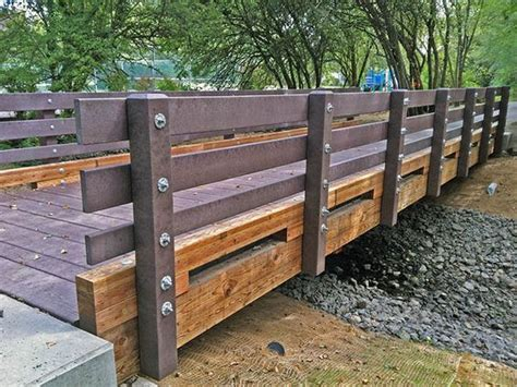 wooden bridge plans bridges drawings and pedestrian bridge on pinterest