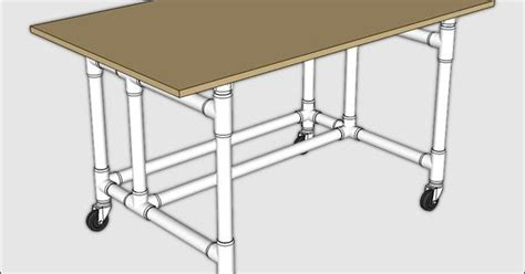 pvc pipe bench pvc maker bench table pvc pipe pvc projects and pipes