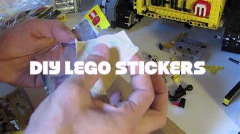 lego tutorial how to make your own brickfilm diy lego minifigures sticker youtube