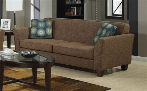 brown tweed couch coaster lilian 504151 brown tweed sofa in los angeles ca
