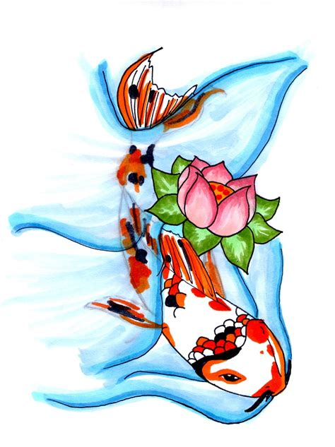 tattoo koi sakura koi tattoo design 1 by lady sakura on deviantart