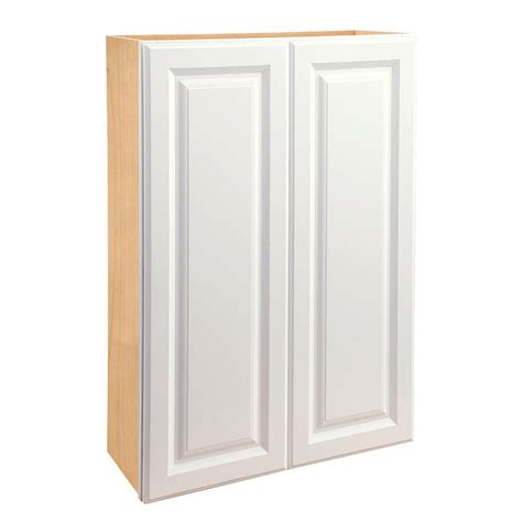Home Depot Kitchen Cabinets Doors Home Decorators Collection Hallmark Assembled 30x36x12 In Wall Door Kitchen Cabinet In