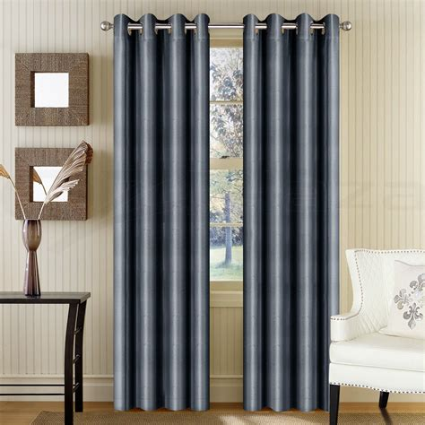 grey blackout eyelet curtains blockout curtains eyelet blackout room darkening 180x230