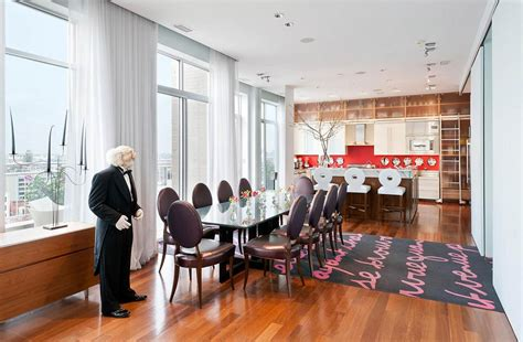 dining room brooklyn dining room kitchen brooklyn penthouse with panoramic views
