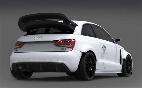 Audi Rx by Eks Audi S1 Rx Rallycross Unveiled