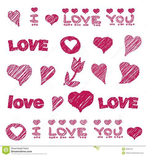 imagenes de i love you fernanda modelo del vector con el elemento drenado mano del dise 241 o