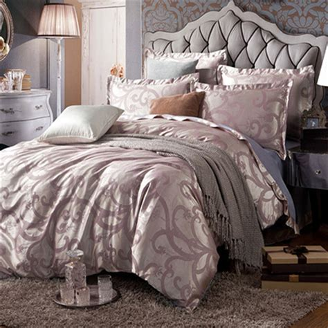 us tnt free shipping king size bedding set tribute silk