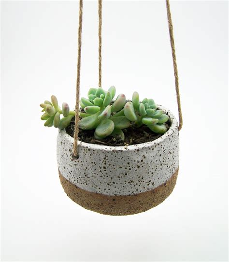 Pottery Hanging Planter by Unavailable Listing On Etsy