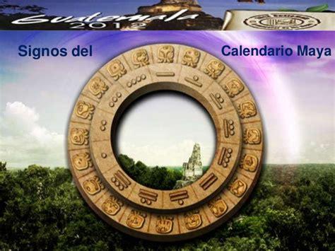 Signo No Calendã Maia Signos Calendario