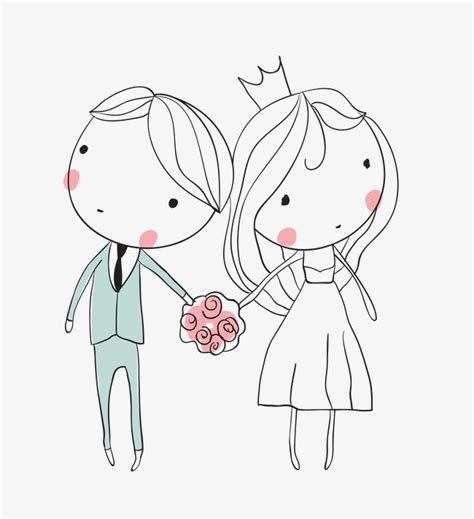 Western Wedding Clipart by And Groom Stick Figure Western Style Wedding Png