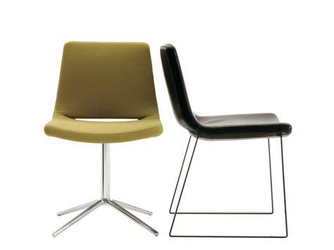 metropolitan chair with 4 spoke base by b b italia design