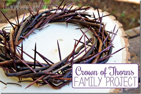How To Make A Crown Of Thorns Out Of Paper - february 2015 chaos served daily