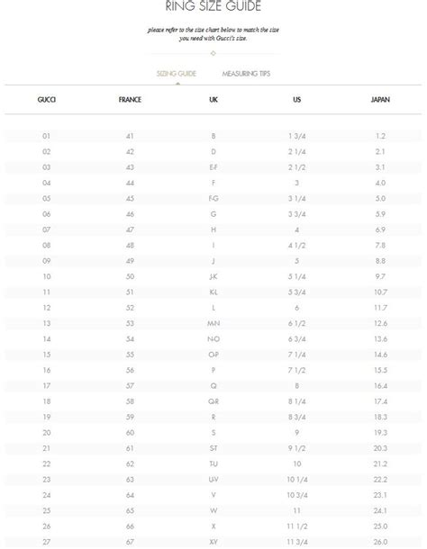 shoe size chart gucci gucci size chart mens gucci men polo shirt luxurious