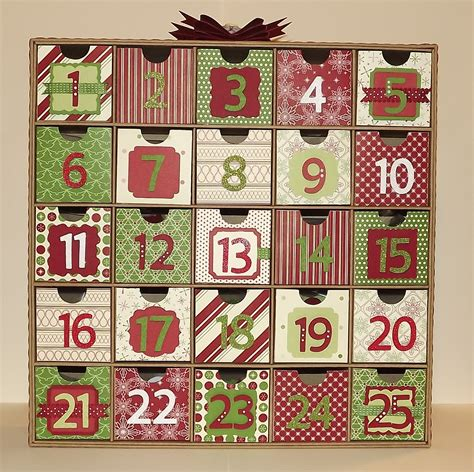 tamra s crafty paper creations christmas advent calendar