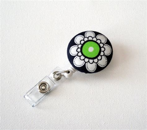 Handmade Name Badges - retractable id badge reel handmade id badge name badge