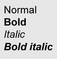 italic font dictionary definition italic font defined